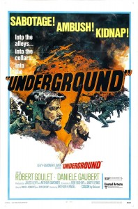 """Poster for the movie """"Underground"""""""