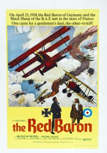"Poster for the movie ""Von Richthofen and Brown"""