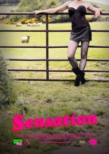 "Poster for the movie ""Sensation"""